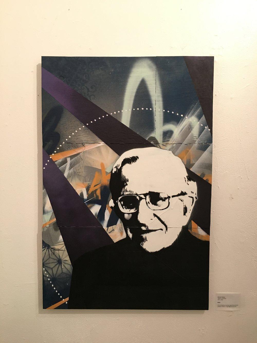 Noam Chomsky - Idols show - San Francisco, CA 2016