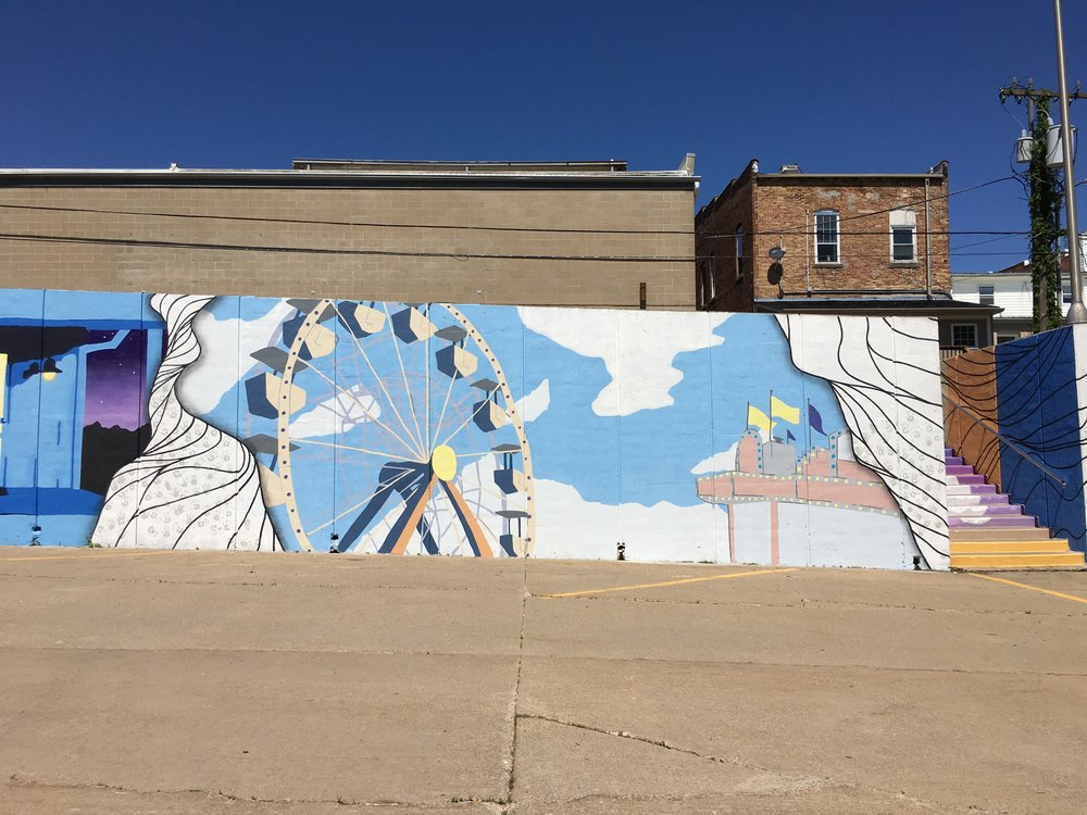 Strider Patton - Mt. Vernon, IA Community Mural Project