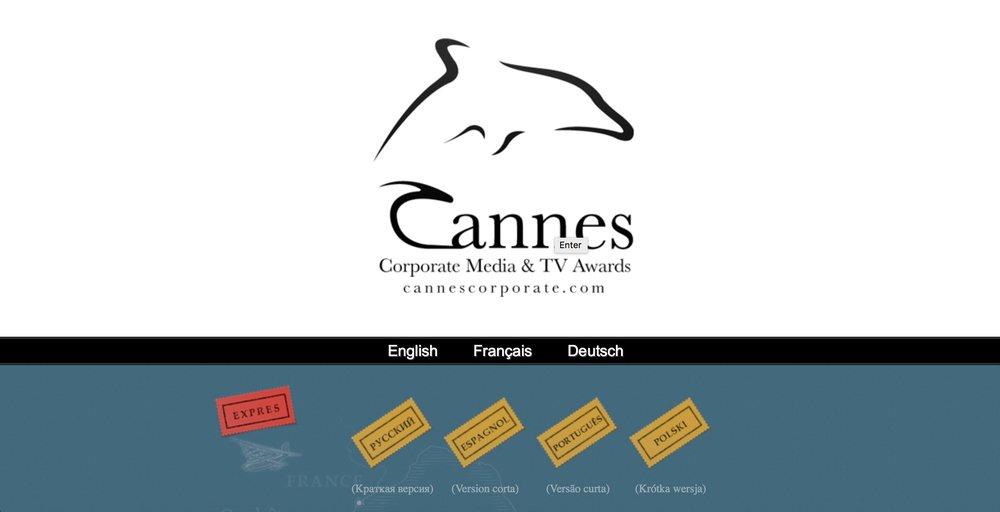In charge of the overall communication strategy and online & offline presence of the Cannes Corporate Media & TV Awards Festival (2008-2013).