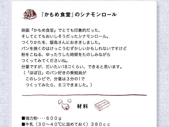 参照元:ほぼ日刊イトイ新聞  http://www.1101.com/megane-movie/recipe.html