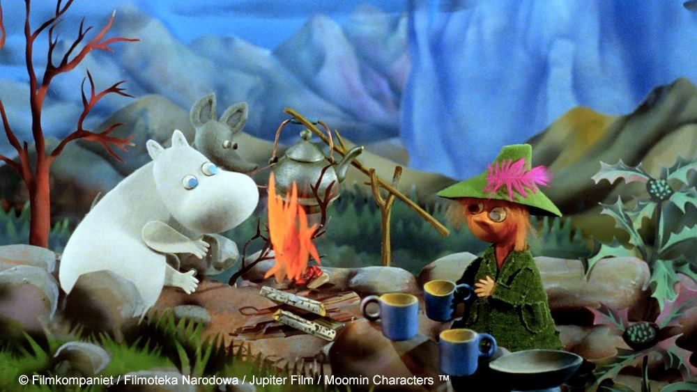 この物語の中で、ムーミンはスナフキンと出会います。