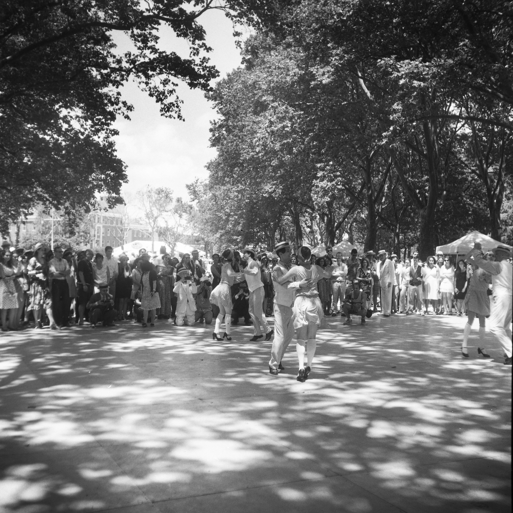 I don't know what the festival is like now, but when I attended the Jazz Age Lawn Party on Governor's Island, I was taken aback.