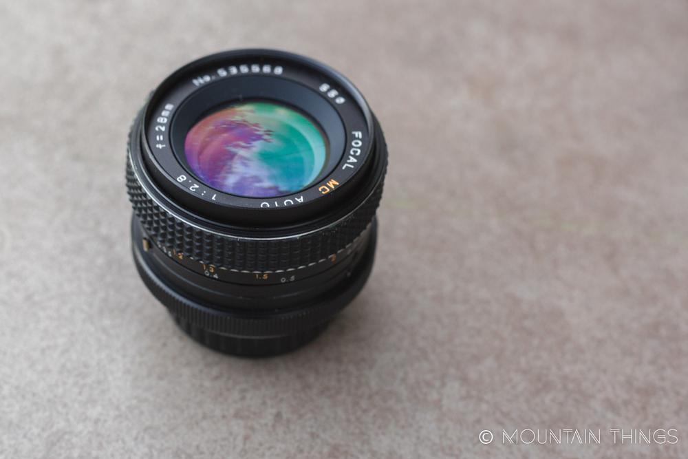 Minolta 28mm 2.8 lens