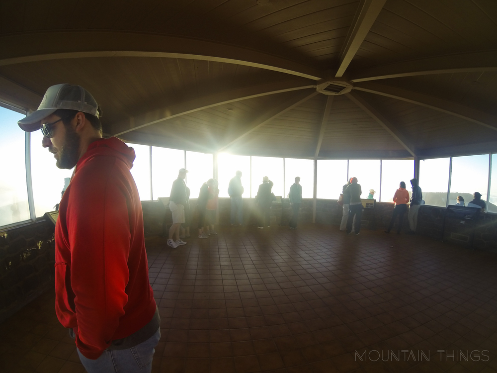 this lookout on the summit offers A beautiful 360 view of not only haleakala, but the entire island of maui.