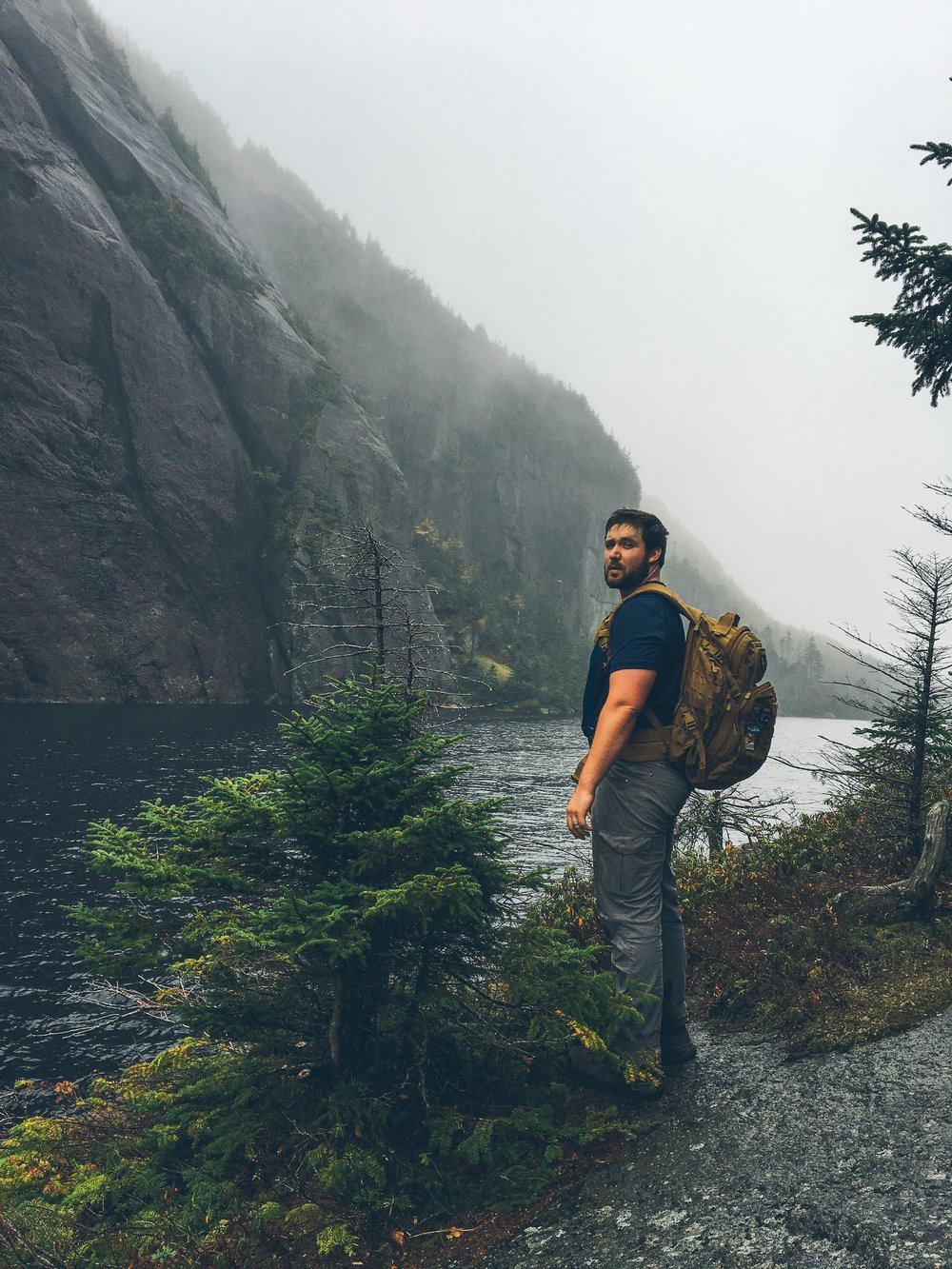 mt. colden trail the adirondacks high peaks Avalanche Lake | mountain things