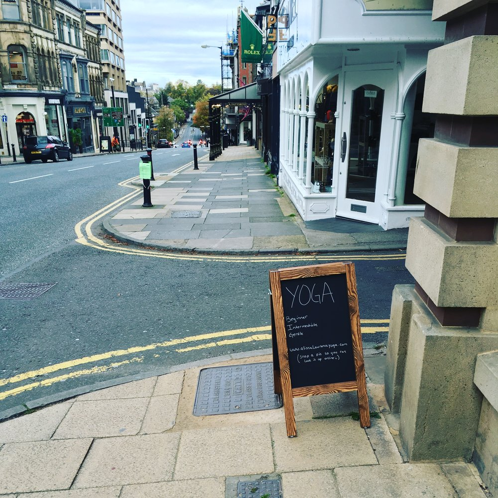 Yoga Studio in the Centre of Harrogate... -