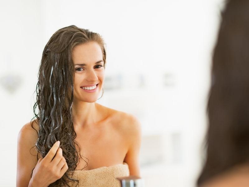 dry hair repair