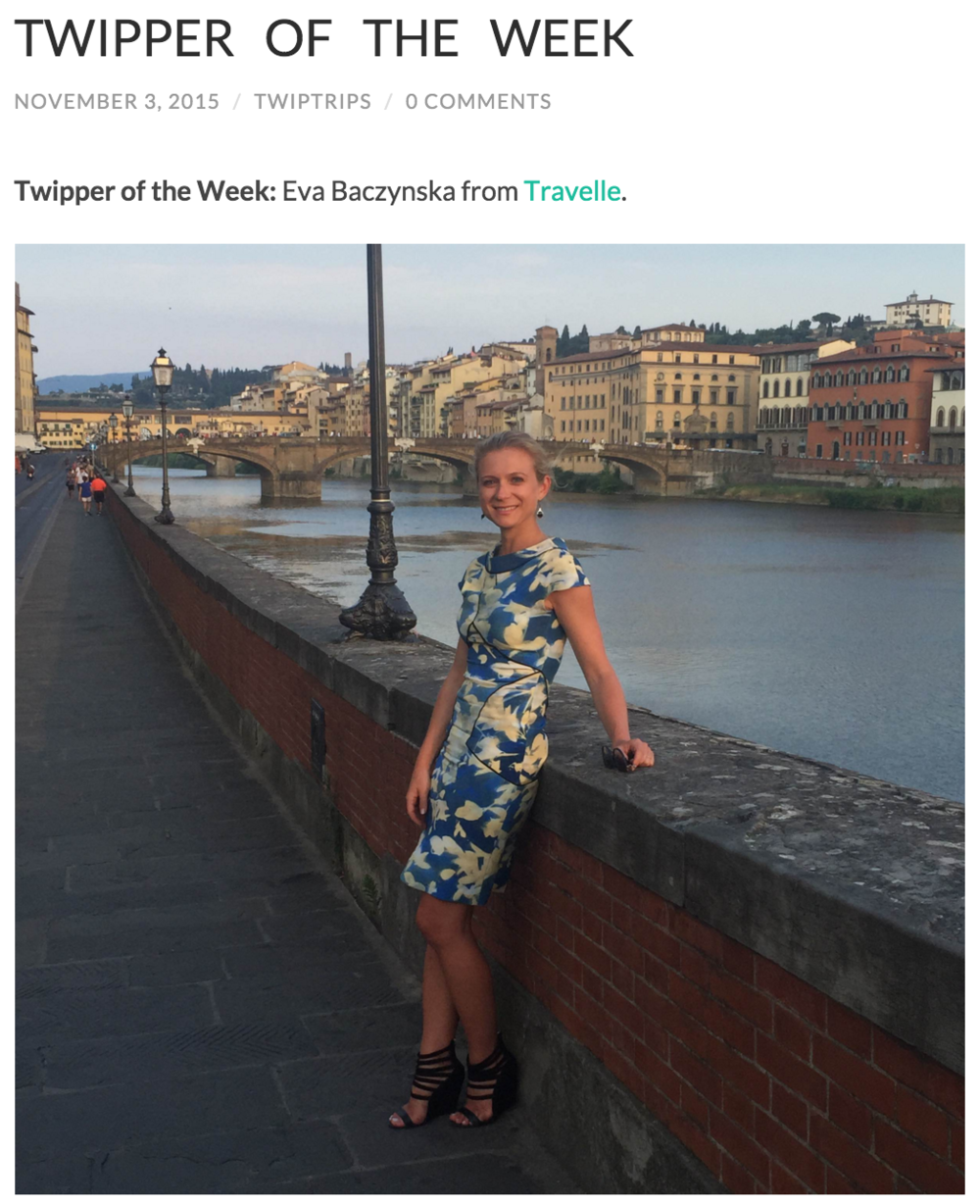 Twip Trips: Twipper of the Week