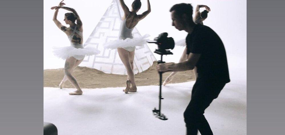 Living the ballerina life, metal version.