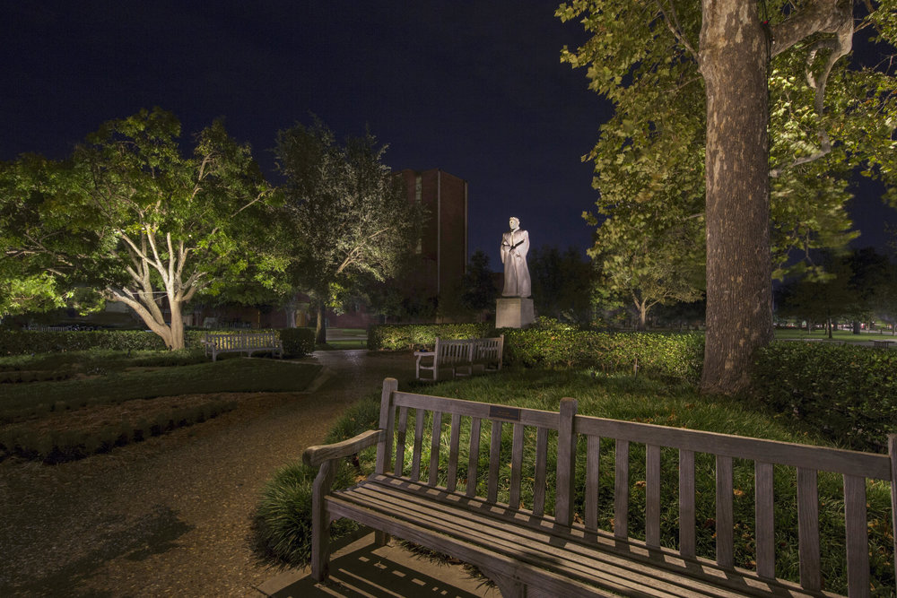Bizzell Statue Garden, University of Oklahoma, Intensive Course 2018