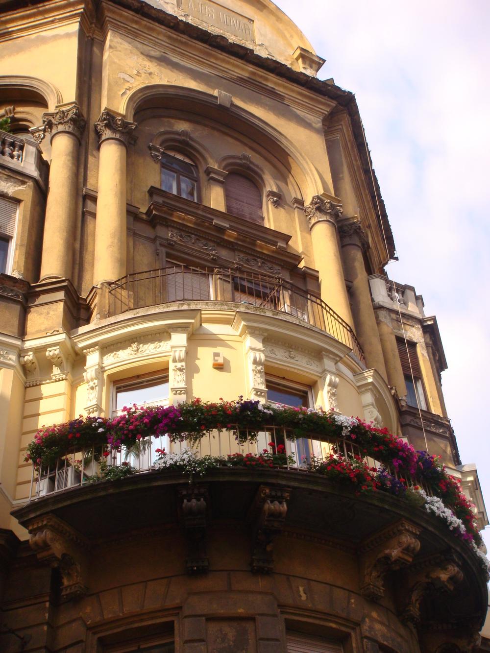 Balcony on Király Utca