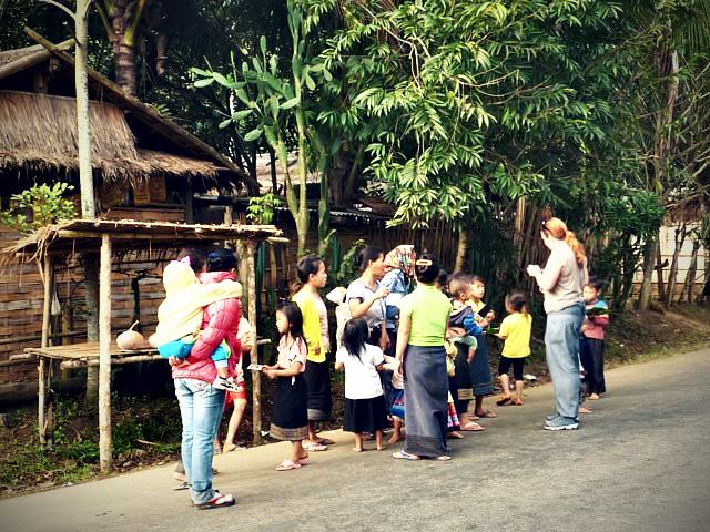 Laos Villagers