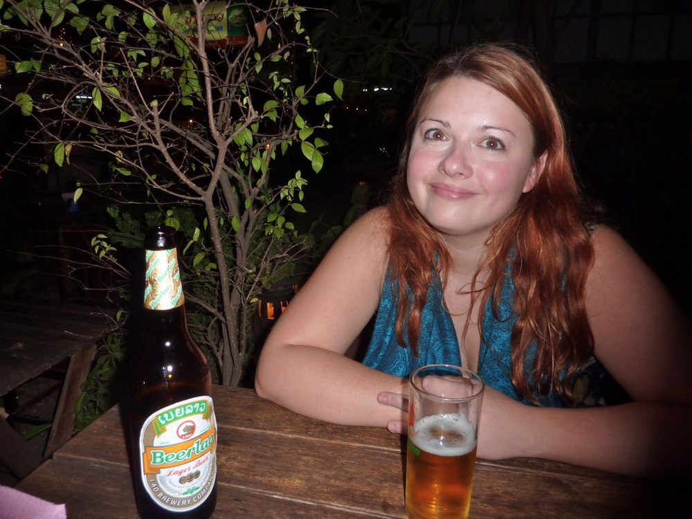 Amy and some Beerlao