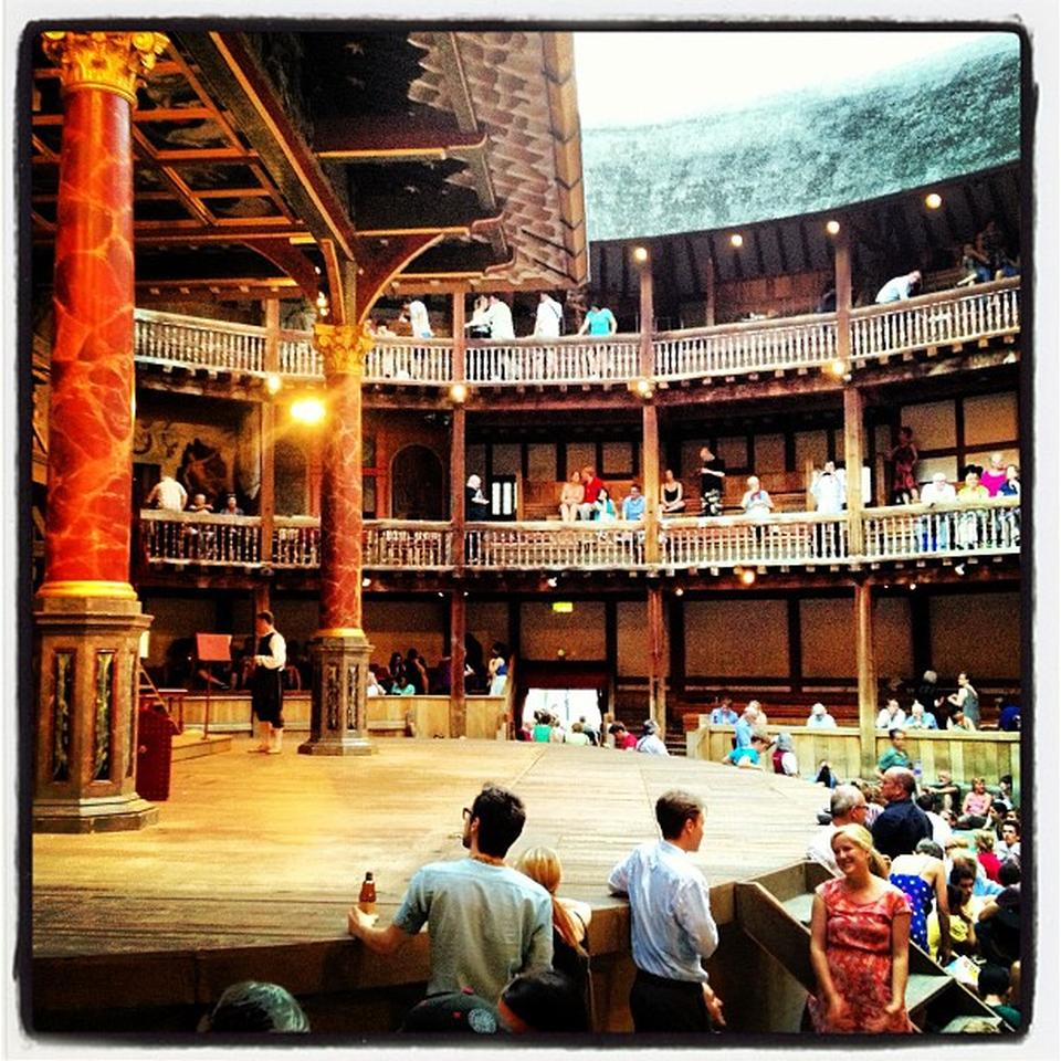 Shakespeare's Globe Theatre by Alejandro C. on Foursquare