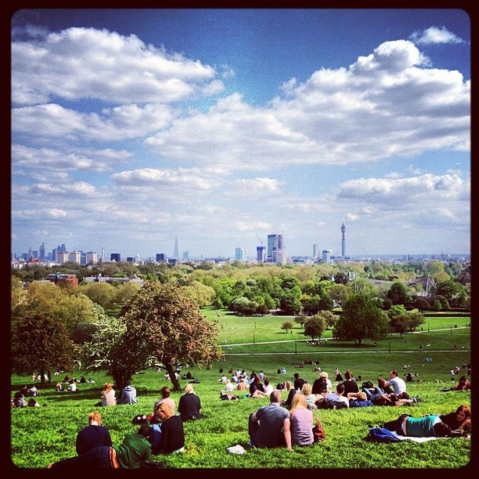Primrose Hill by Paul in L. on Foursquare