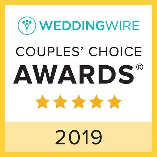 What?! Amazing. We love what we do here and are so honored to be recognized by our lovely couples!