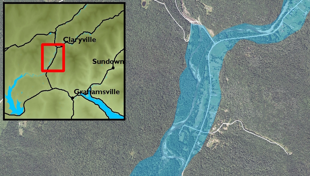Local Flood  Hazard Mitigation Analysis: Hydraulic Model for Upper Neversink River, Claryville & Denning
