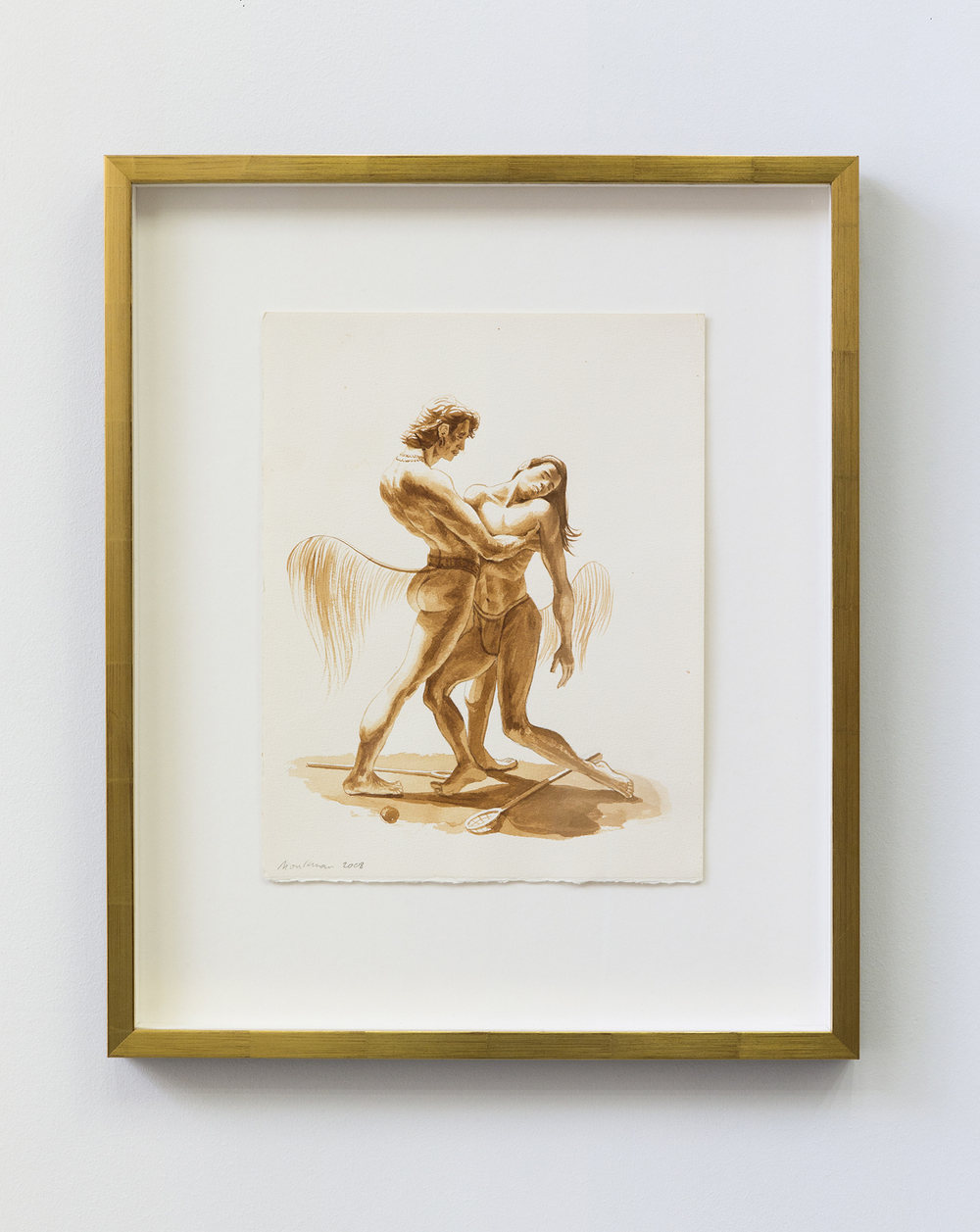 Study for Apollo and Hyacinthus (Sepia)