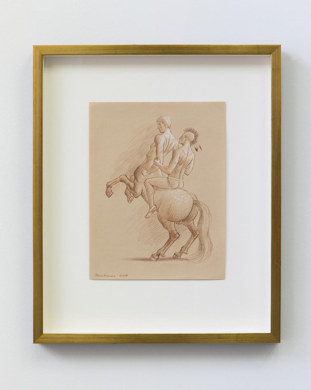 Study for the Triumph of Mischief (Centaur)