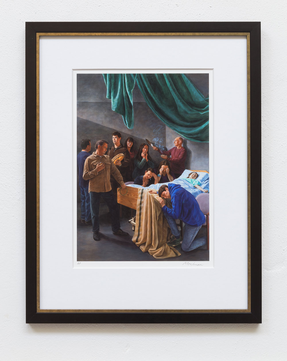 Death of the Virgin (After Caravaggio) Giclée Print