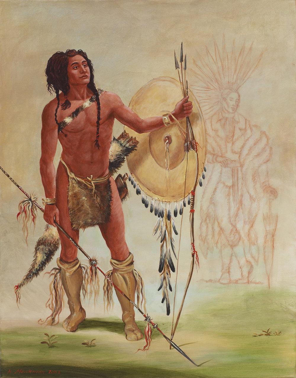 His-Oo-Sán-Chees (Little Spaniard, a Warrior) with Faint Heart 644