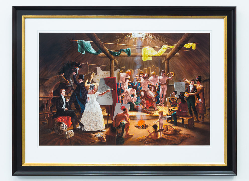 The Academy Giclée Print