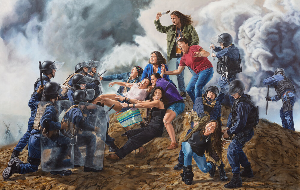 With Our Bodies We Protect the Land