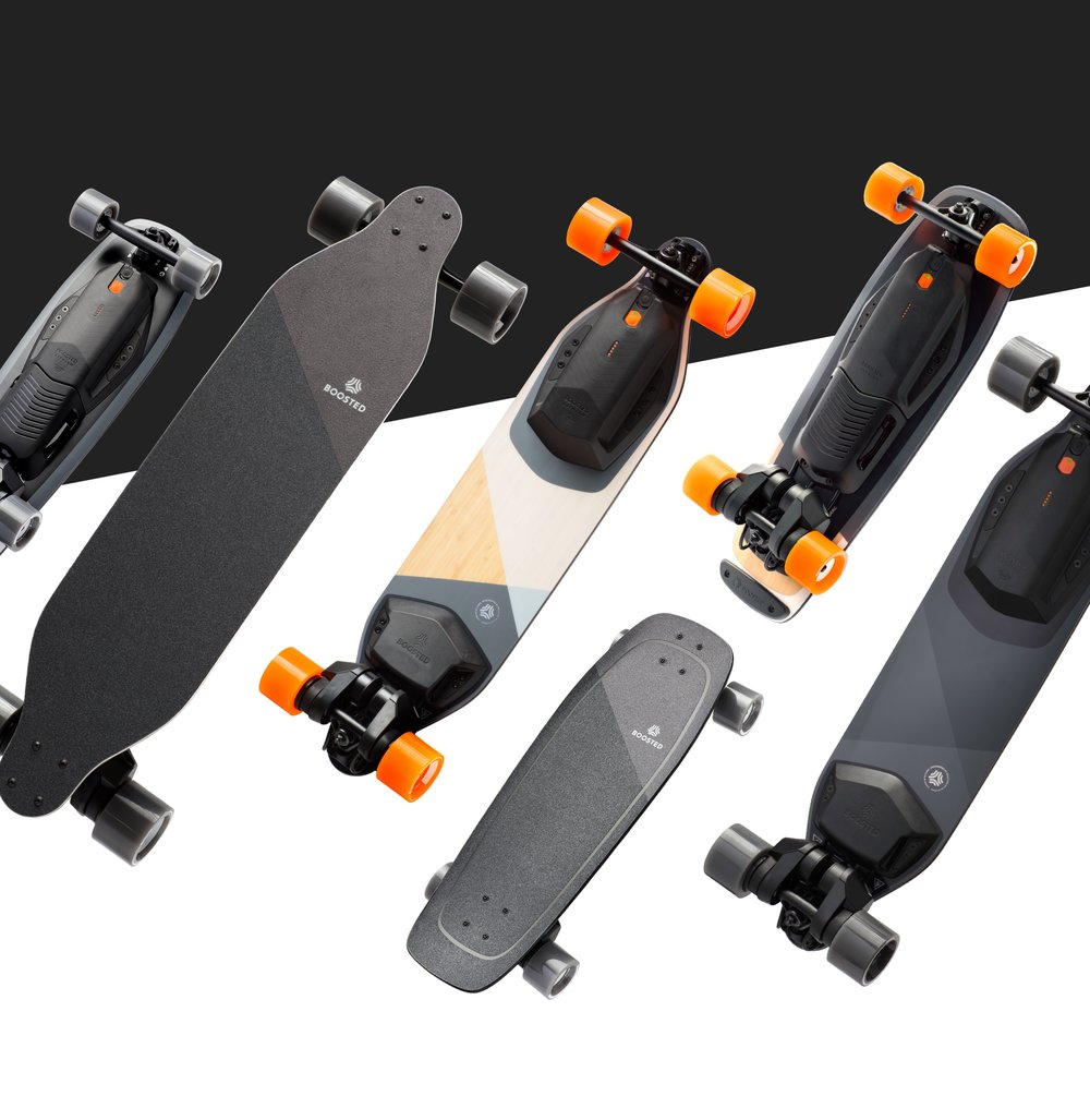 Boosted 2018 Lineup