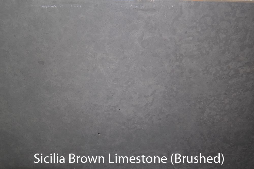 SCILIA BROWN LIMESTONE (BRUSHED)