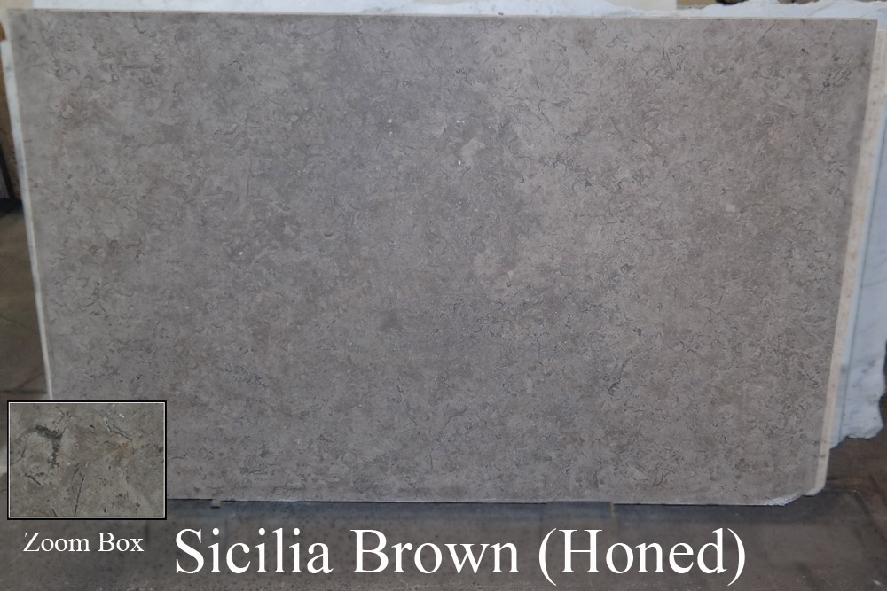Sicilia Brown Honed