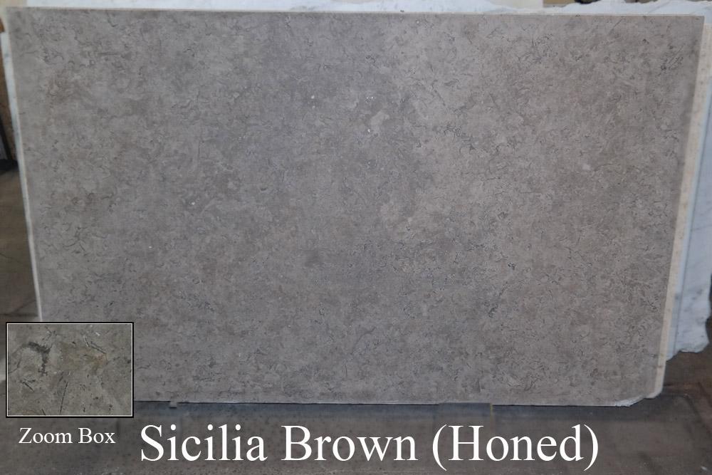 Sicilia Brown Honed