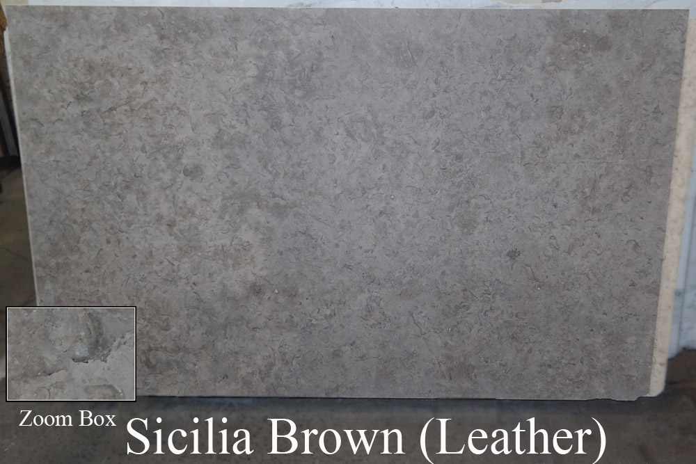 Sicilia Brown Leather