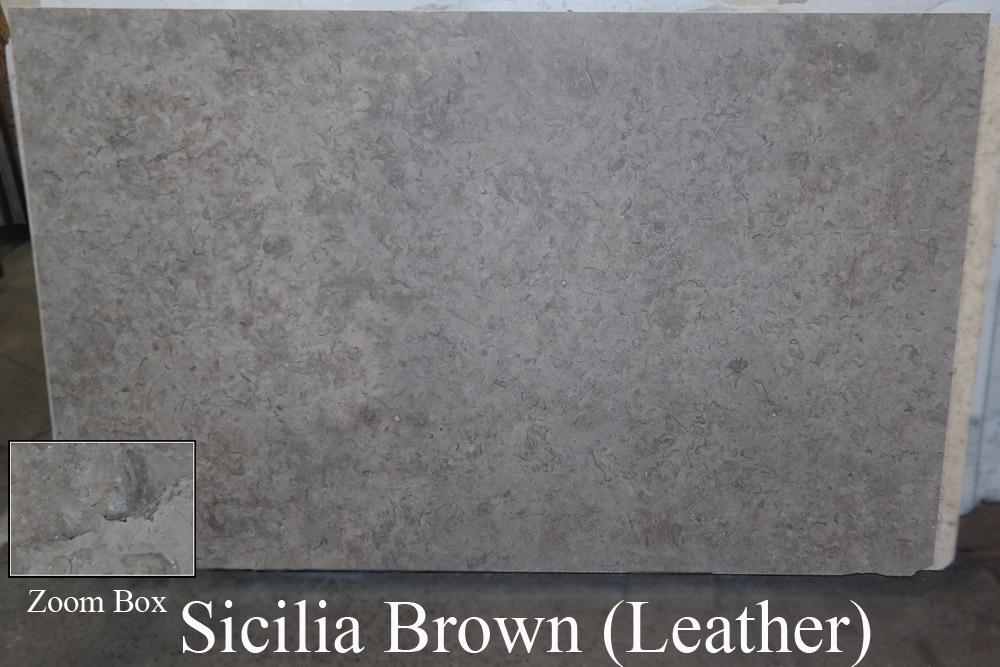 Sicilia Brown Leather