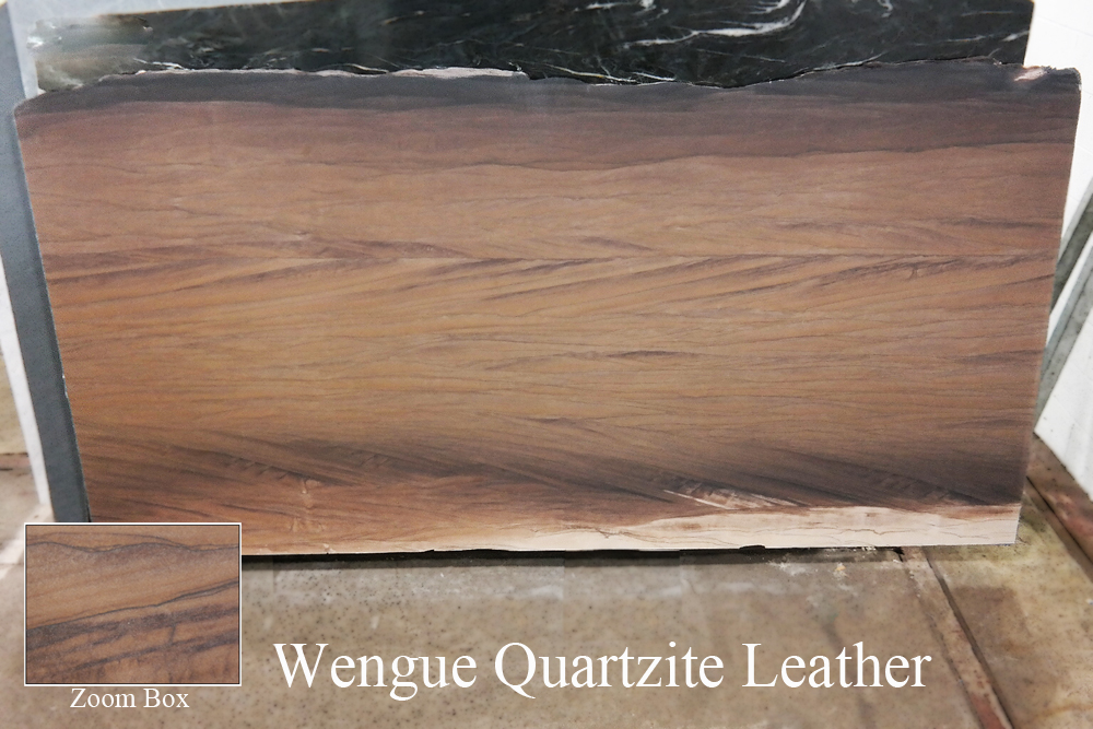 WENGUE QUARTZITE LEATHER