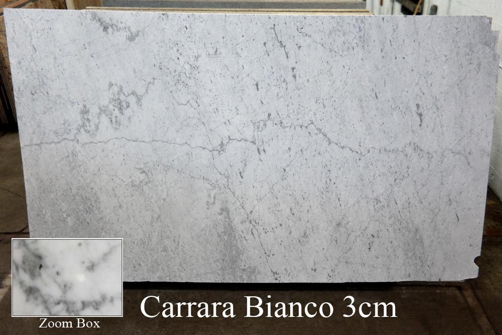 CARRARA BIANCO 3CM