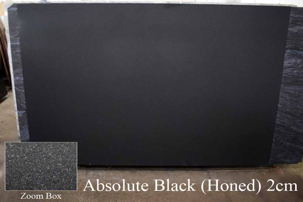 ABSOLUTE BLACK (HONED) 2CM