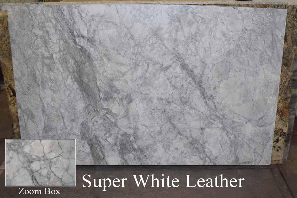 SUPER WHITE LEATHER
