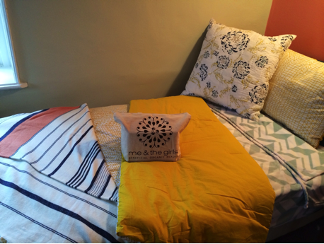 A bed waiting for a young woman newly rescued from human trafficking.  Photo courtesy of The Well
