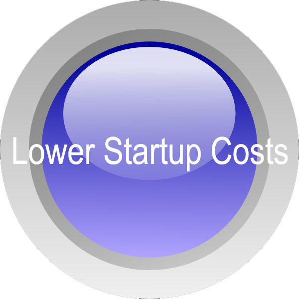 Lower Startup Costs