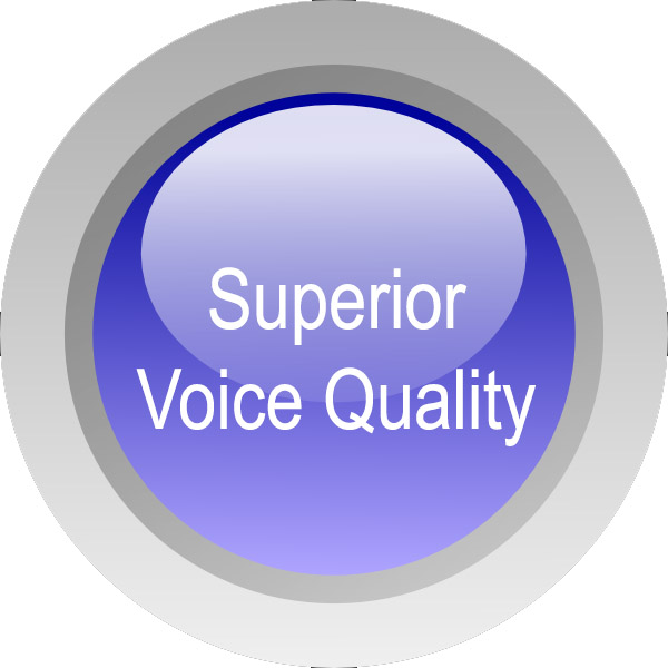 Superior-voice-quality