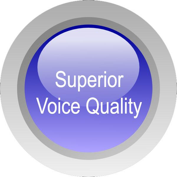 Superior-voice-quality