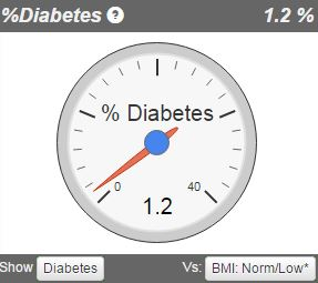 Discover your risk for metabolic diseases like diabetes with the VAT measurement.