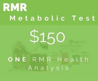 + Precise number of calories your body burns at rest (RMR) + If you're a 'fat burner' or 'sugar burner' + How to maximize fat loss while still building muscle + If your metabolism is slow, normal, or fast