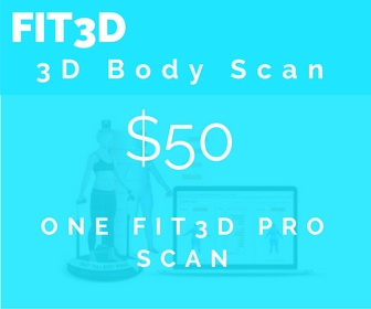 360 degree image of your body for tracking vital health metrics and getting precise before/after visuals of progress!