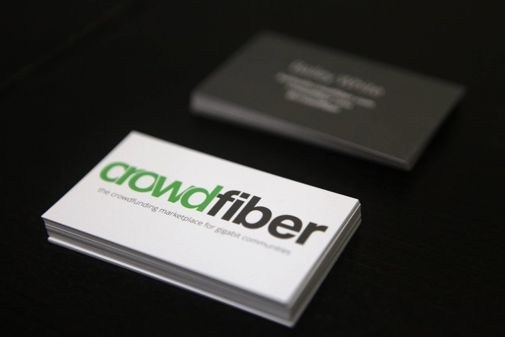 crowdfiber - Brand + Collateral Design
