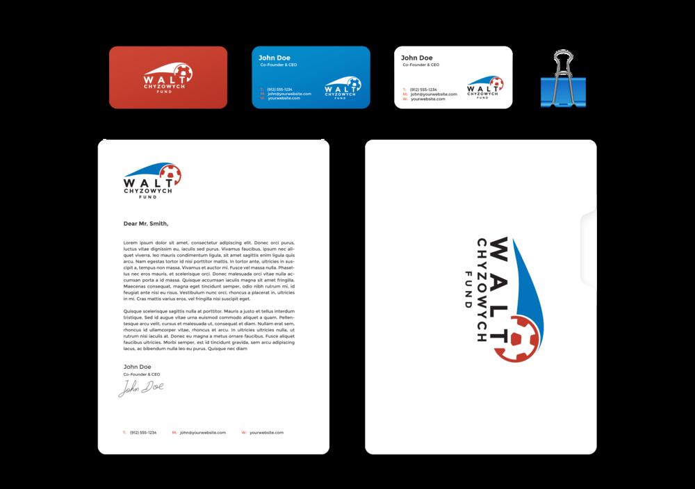 Walt Chyzowych Fund - Brand identity
