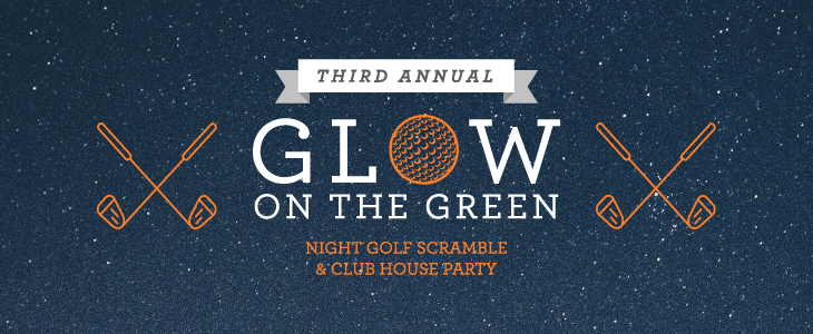 Glow on the Green - Branding + Collateral Design