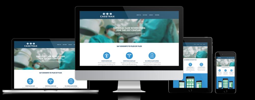 CASETRAX - Website &Brand Development