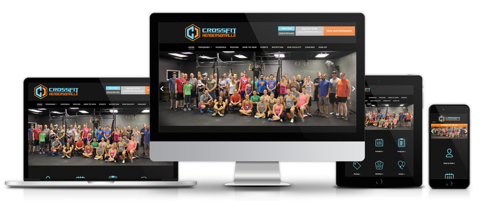 CROSSFIT HENDERSONVILLE - Website Design + Implementation