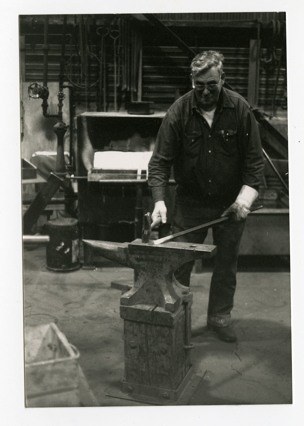 Blacksmith Boilermaker At Work